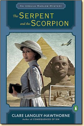 The Serpent and the Scorpion, the Novel by Clare Langley-Hawthorne